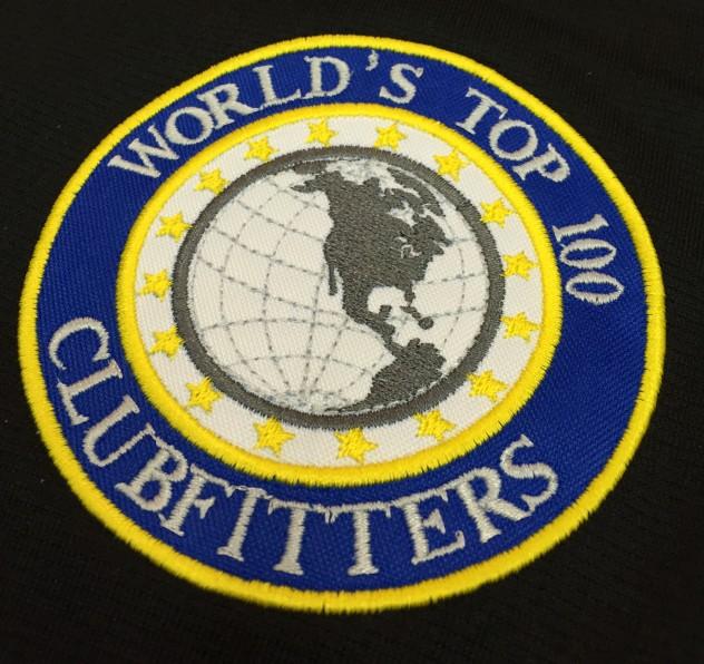 bordados logo world,s top 100 clubfitters