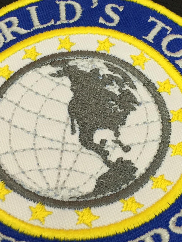 bordado logo World,s Top 100 golf