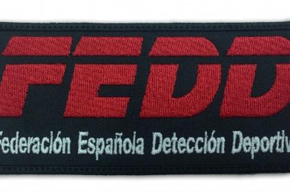 parche escudo fedd